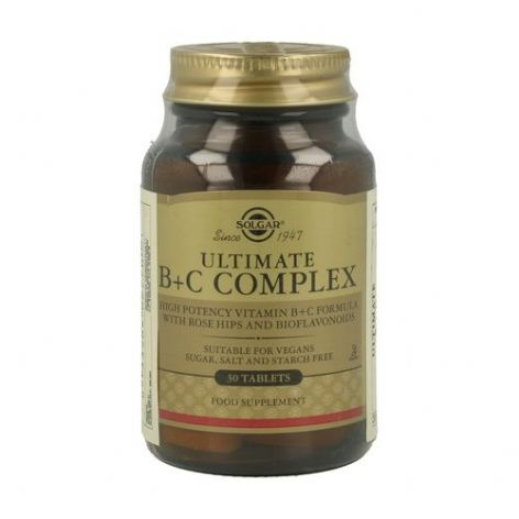 Ultimate B+C Complex Tablets 30tabs